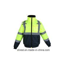 Veste de sécurité haute visibilité haute qualité à l'hiver