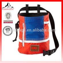 Escalada saco de giz com cinto e bolso com zíper para escalada, ginástica, levantamento de peso-HCC0001
