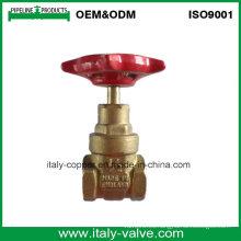 Válvula de puerta forjada latón forjado latón de la calidad del OEM & ODM (AV4052)