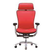 Leather High Back Executive Office Chair Ergonomic Office Leather Chair