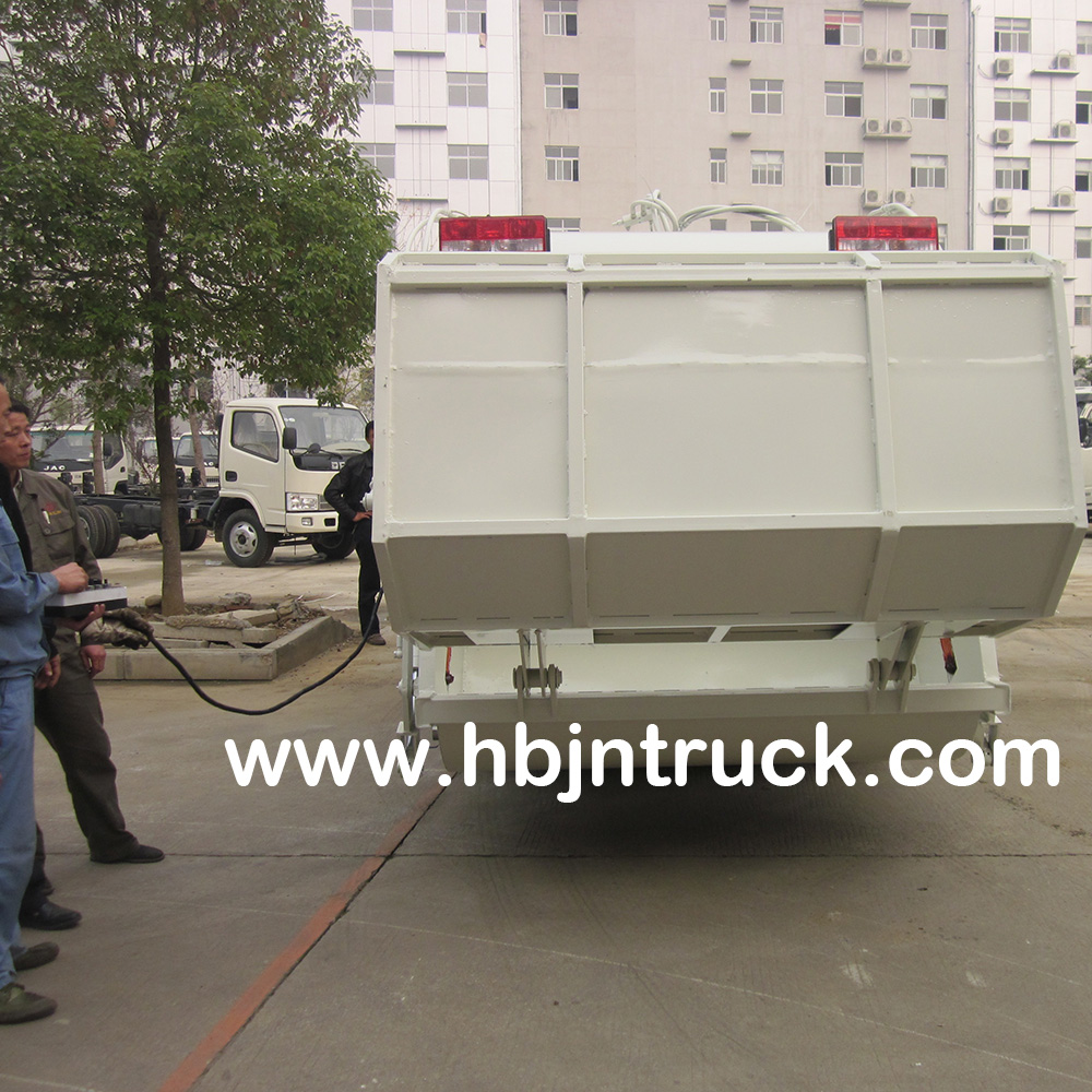 Rubbish Compactor Truck Supplier