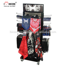 Wooden Freestanding Scarf Shop Gloves And Socks Display Rack With Our Capability To Fabricate, Manufacture And Logistic Support