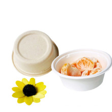 Biodegradable Compostable 12 Oz Disposable Bagasse Sugarcane Round Bowl