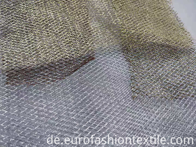 Metallic Tulle Fabric