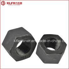 ASTM A194 2h / A563 10s Porcas hexagonais pesadas