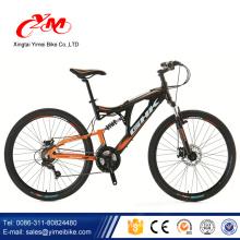 bicicletas mountain bike/21 speed black and yellow color mountain bike