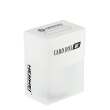 Plastic 80 Pcs Capacity cards protecting Cards Box