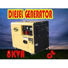 8kVA Generator! ! ! China Portable Small 6kw Generator Diesel Sale Price (CE, BV, ISO9001)