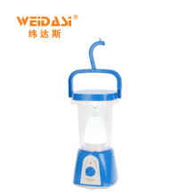 Crank handle LED outdoor portable solar Lantern for camping light