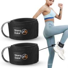 Fitness Ankle Ring Ankle Buckle Leg Muscle Training Device Hip Training Leg Straps Hook Leg Gantry Pull Rope