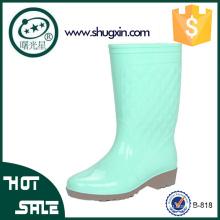 señoras lluvia zapatos coreanos zapatos de goma a prueba de agua