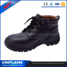 Leather Steel Toe Safety Shoes Men Work Shoes