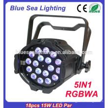5in118pcs 15w RGBWA светодиодный пар закрытый светодиодный этап освещения фарфора цена по прейскуранту завода-изготовителя