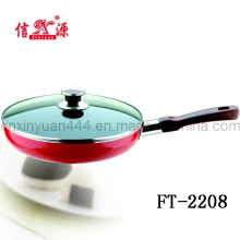 Aluminium Alloy Pan with Glass Lid (FT-2208)