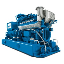 Conjunto gerador de gás de leito de carvão MWM