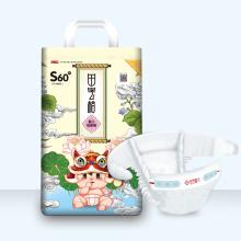 Fabricante de productos para bebés pañales desechables súper suaves para bebés a granel