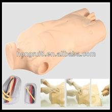 Cateterização Venosa Central ISO e Treinamento Venopunção, Simulador de Intramuscular Injecção