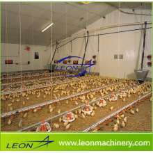 Leon series chicken house broiler feeding system for poultry farm