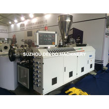 PVC Pipe Plastic Conical Twin-Screw Extruder