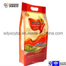 Manija de arroz Bolsa de embalaje de plástico de grado alimenticio