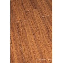 Plancher stratifié par U-Grooved de noix de relief de ménage de 8.3mm E1 HDF