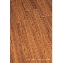 Household 8.3mm E1 HDF Embossed Walnut U-Grooved Laminated Floor