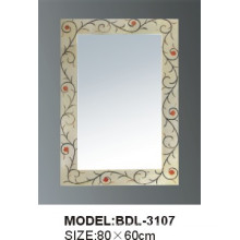 5mm Thickness Silver Glass Bathroom Mirror (BDL-3107)