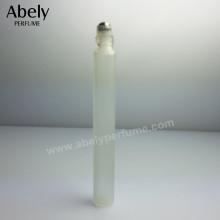 Frasco del perfume de la bola del rodillo del metal 10ml para la prueba