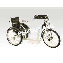 D-92 Triciclo dobrável manual preto para pessoas idosas