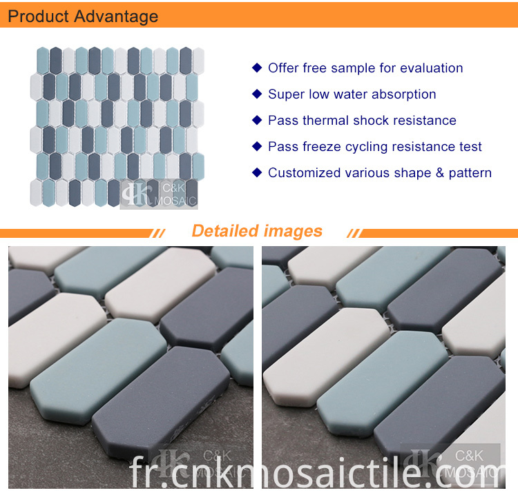 Multi Colored Glass Mosaic Tiles