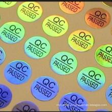 Cheap price QC PASSED Custom hologram sticker