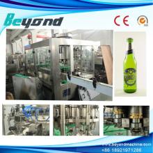 Botella de vidrio Alcohol Dink Línea de producción