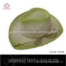 Chapéus de cowboy de impressão em papel grossista