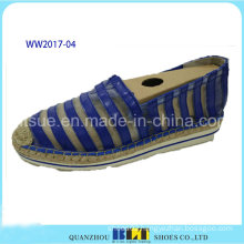 High Quality Lace Materials Causal Shoes with Hemp Rope