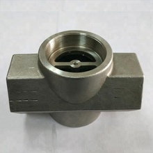 Precision casting GP240H globe valve body for transmission