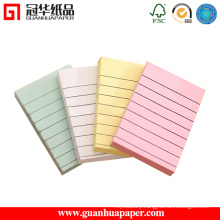 Different Colors Tear-off Lined Notepad