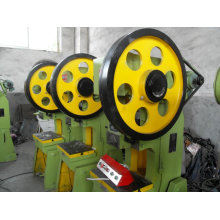 Punching tools with feeder, straightener