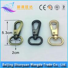 Beijing quente vendendo latão metal giratória snap gancho big snap gancho
