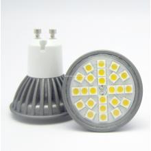 5050 LED 24PCS 4W GU10 AC85-265V LED Spotlight