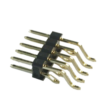 1.27 mm Pin Header Dual Row Angle Type SMT