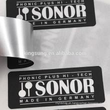 Etiqueta branca das etiquetas do disco rígido do papel Eco-friendly do papel / PVC / ANIMAL DE ESTIMAÇÃO
