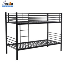 Modern steel adult double decker twin size bedroom bed