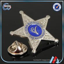 metal stars badge