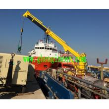 Grue marine télescopique hydraulique 3t15m