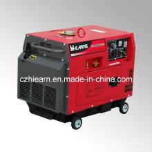 Générateur diesel diesel à soudure avec couleur rouge (DG6500SEW)