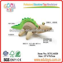 Wooden Toy Animal - Toy Crocodile