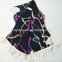 Xailes e cachecóis / lenço de moda multi-coloridas