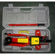 2 Tonelada de piso hidráulico para (DSF-2T) Embalagem de plástico com CE aprovado
