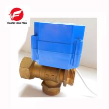 12В 24В латунь формате cwx-60р Ду20 Ду15 6 нм электрический 3 способ клапан