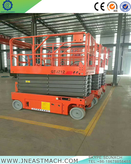 Hydraulic Self-propelled ScissorLift Indoor and Outdoor